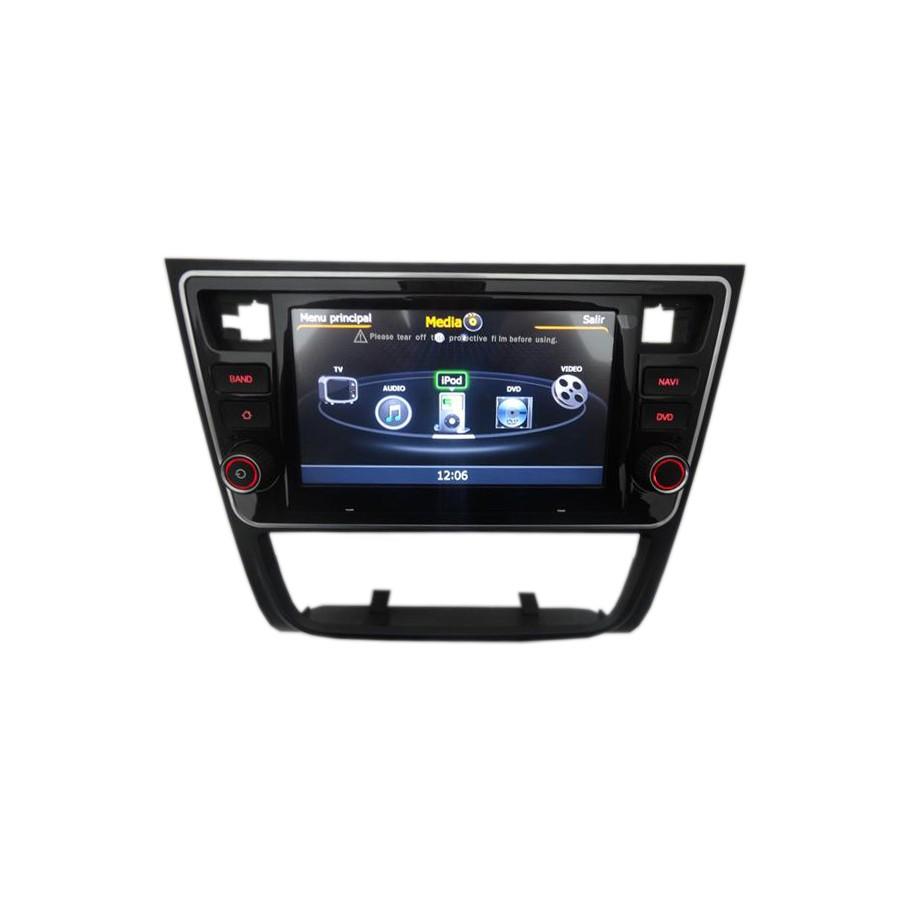 Central multimídia VW Voyage G6