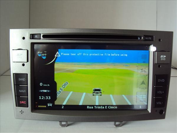 Central Multimídia Peugeot 308