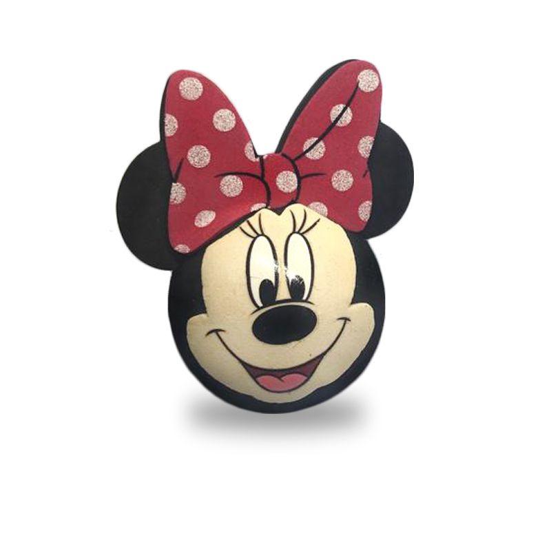 Enfeite para Antena de Carro Minie Mouse c/ rosto