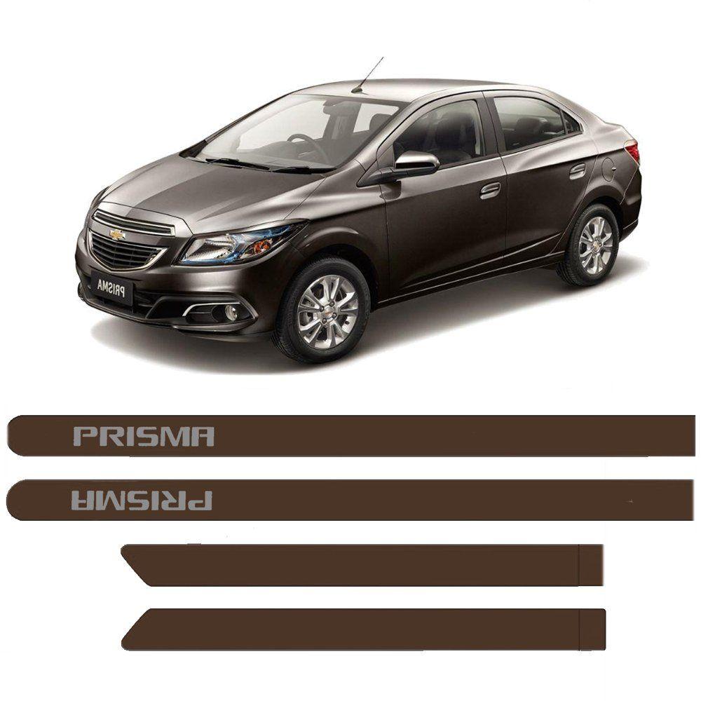 Friso Lateral Chevrolet Prisma 2013/2016 Pintado