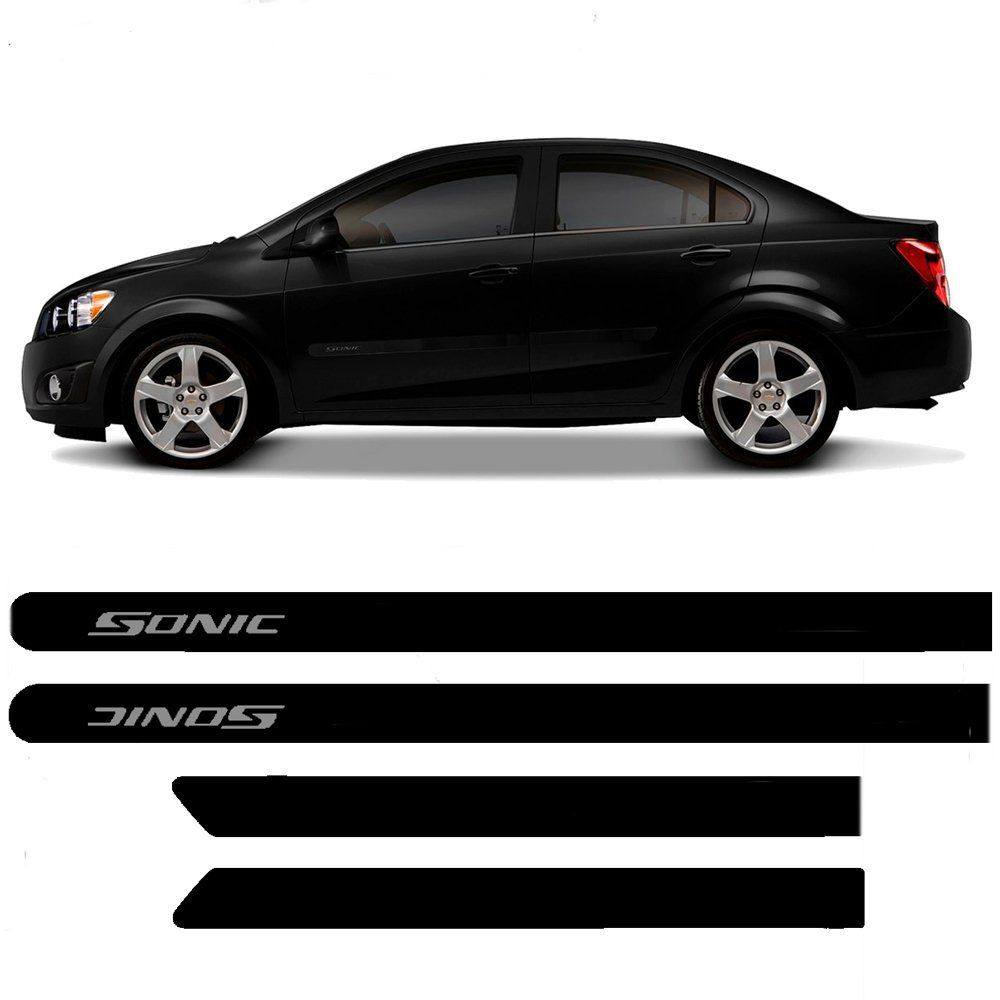 Friso Lateral Chevrolet SONIC Personalizado