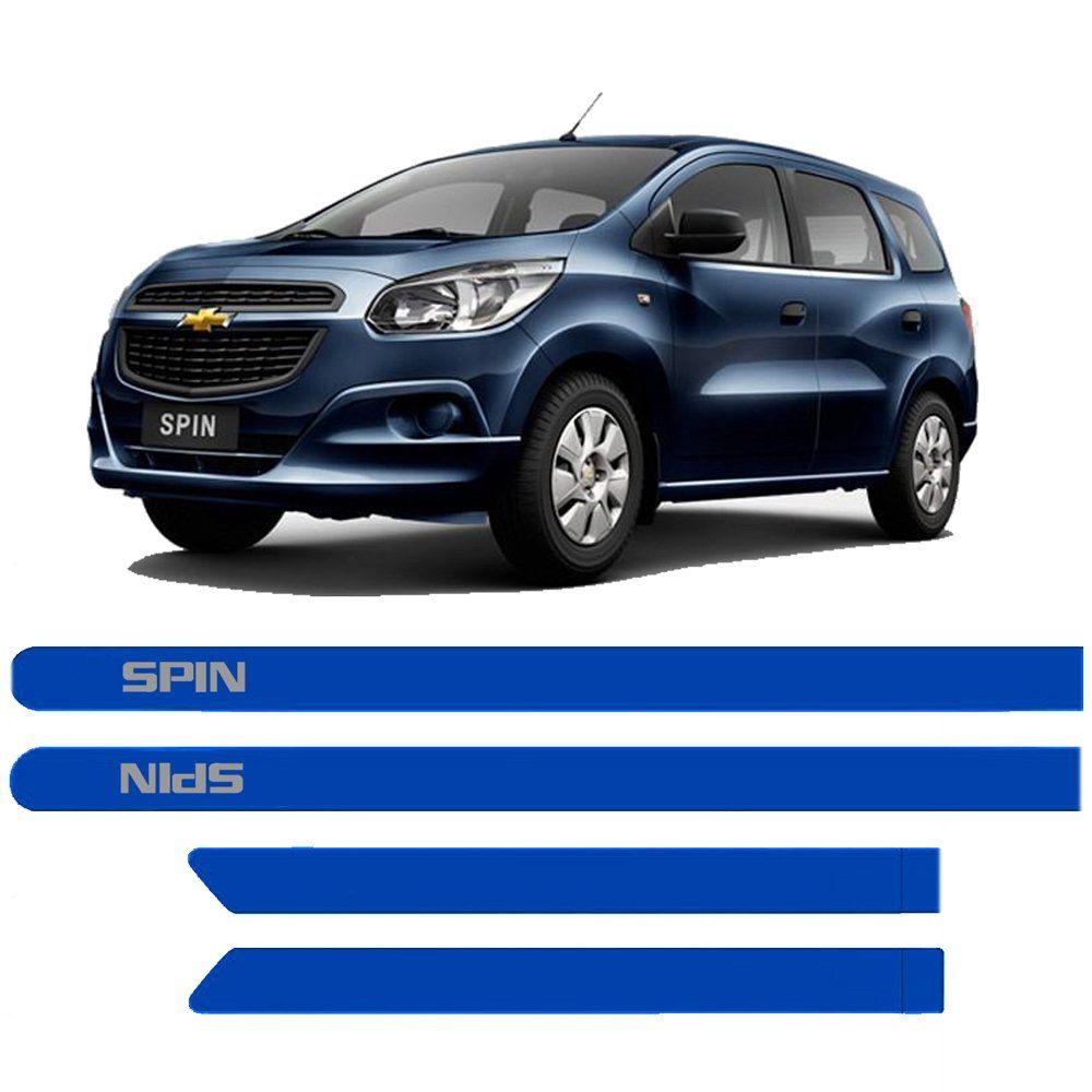 Friso Lateral Chevrolet Spin Pintado