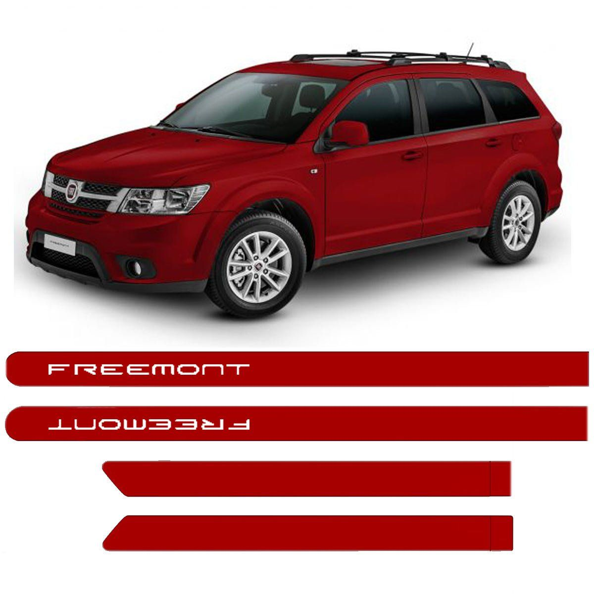Friso Lateral Fiat Freemont Personalizado