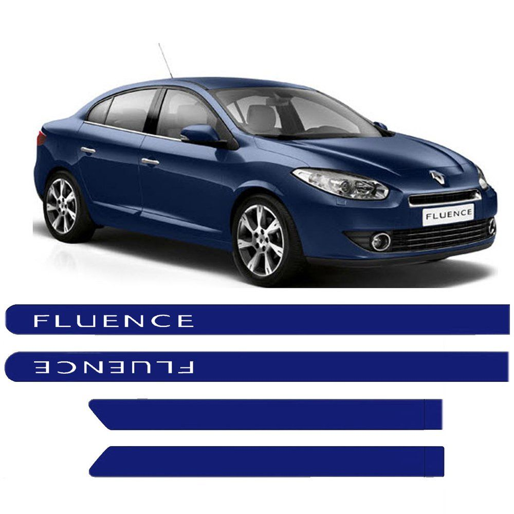 Friso Lateral Fluence Renault Personalizado