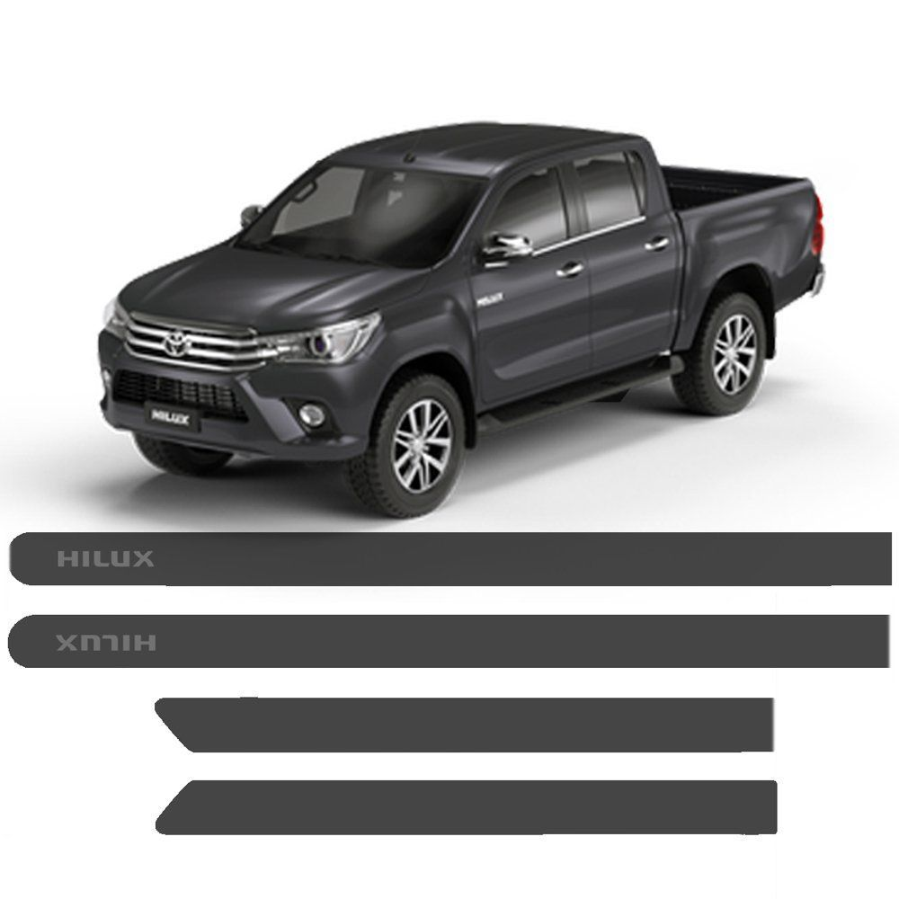 Friso Lateral Toyota Hilux Personalizado