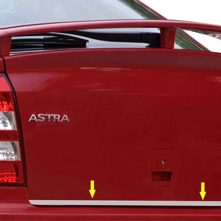 Friso Porta Malas Cromado Astra Sedan 99/12 Resinado