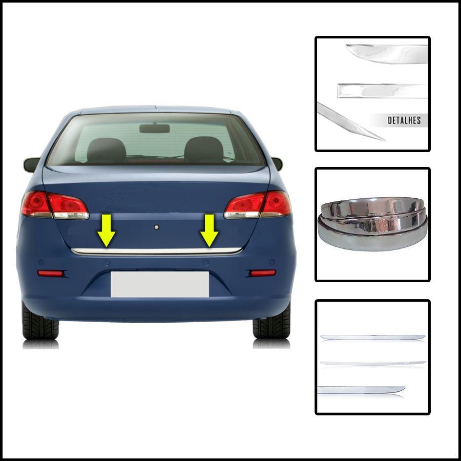 Friso Porta Malas Cromado Focus Sedan 16/18 Resinado