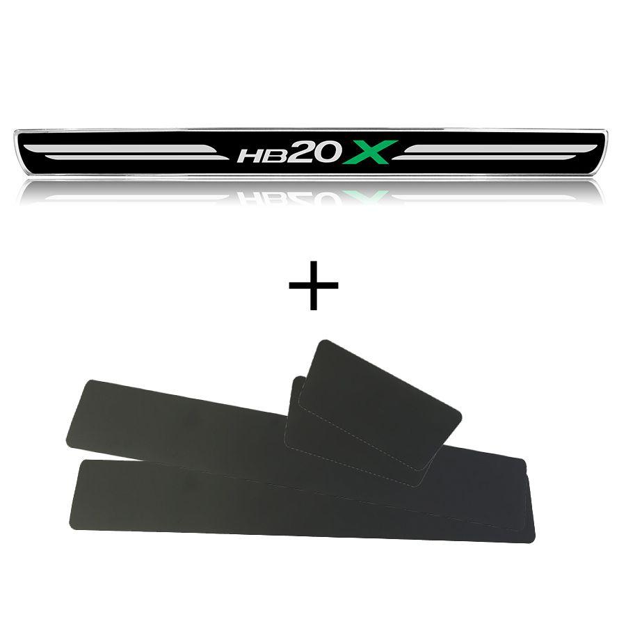 Jogo de soleira de porta Hyundai HB20X PREMIUM