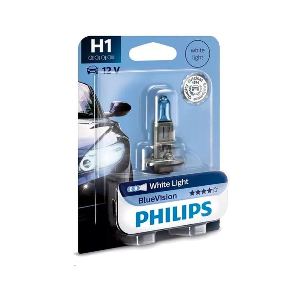 Lâmpada Blue Vision H1 Philips (Unitário)