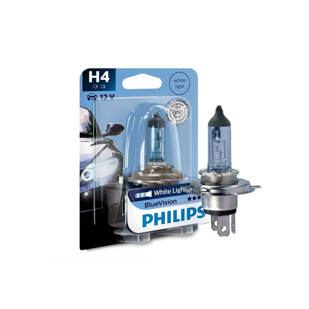 Lâmpada Blue Vision H4 Philips (Unitário)