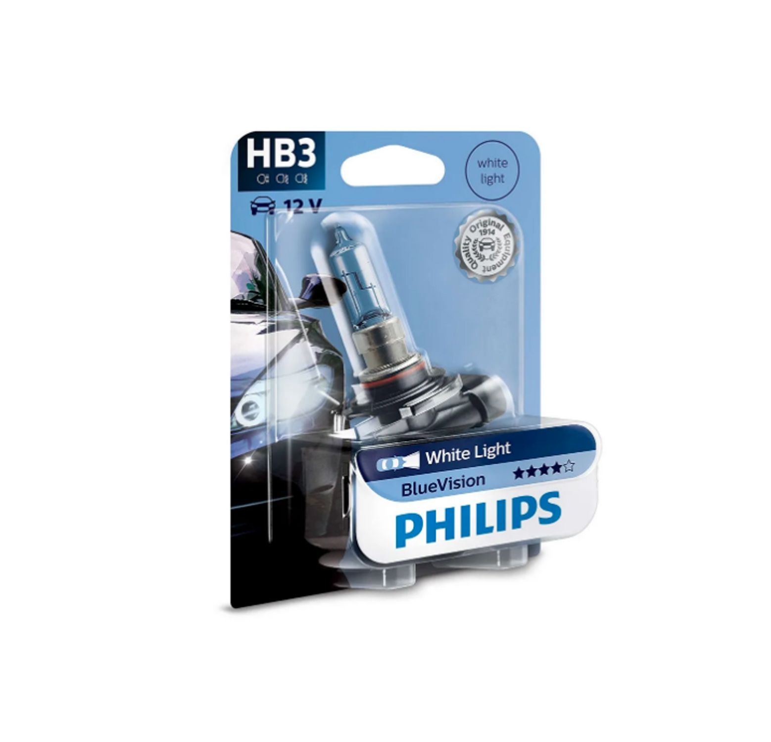 Lâmpada Blue Vision HB3 Philips (Unitário)