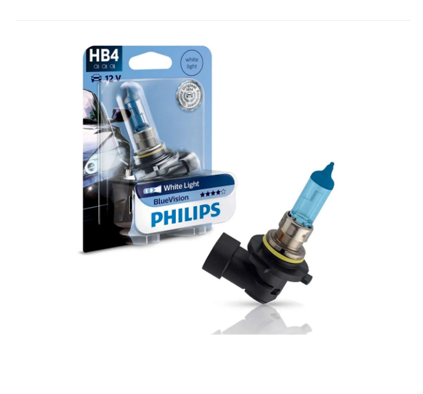 Lâmpada Blue Vision HB4 Philips (Unitário)