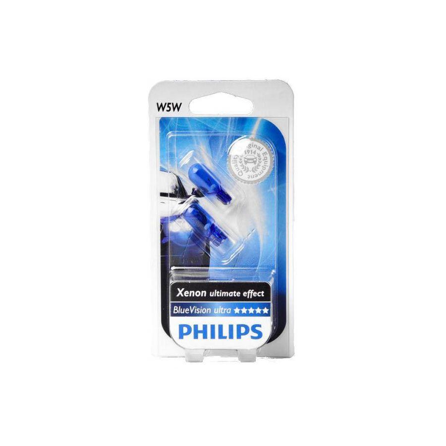 Lâmpada Blue Vision W5W Pingão Philips (PAR)