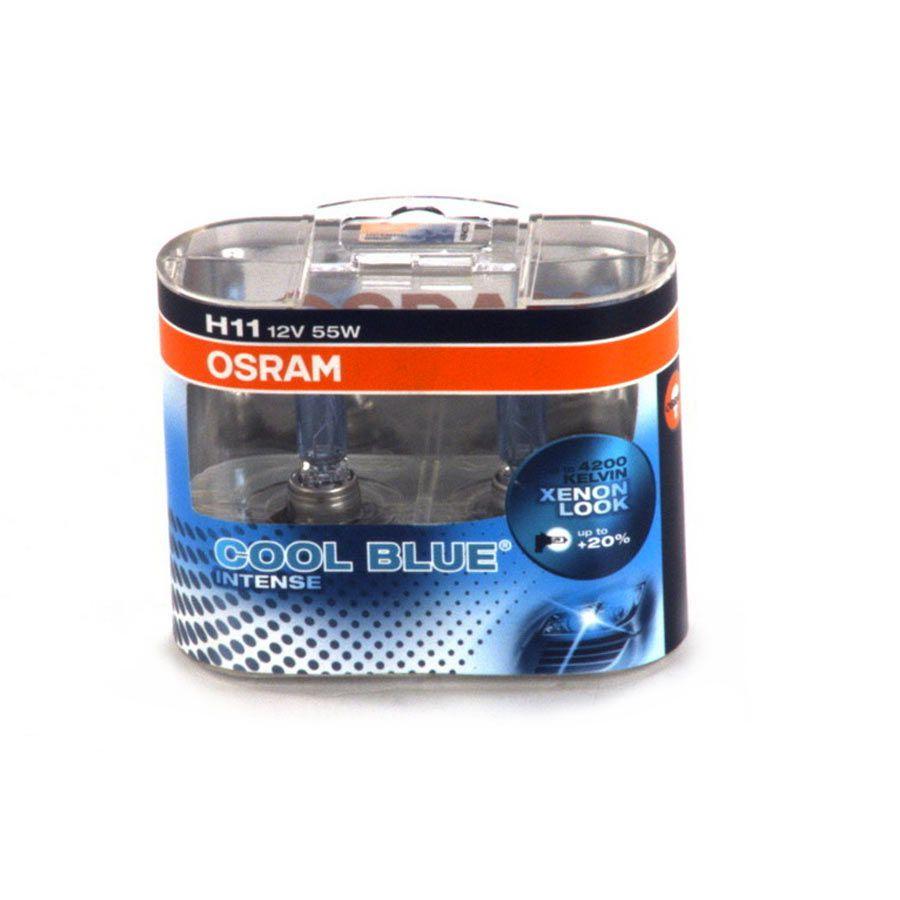 Lâmpada Super Branca Osram Cool Blue Intense H11 55W