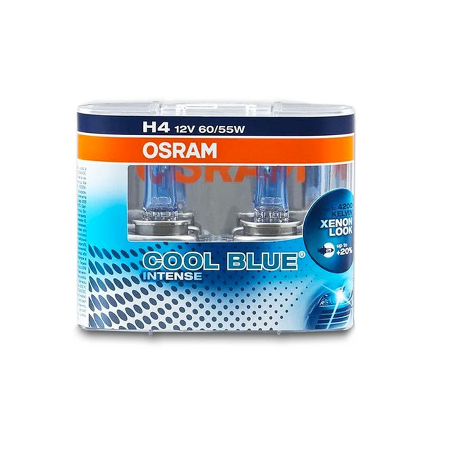 Lâmpada Super Branca Osram Cool Blue Intense H4 60/55W