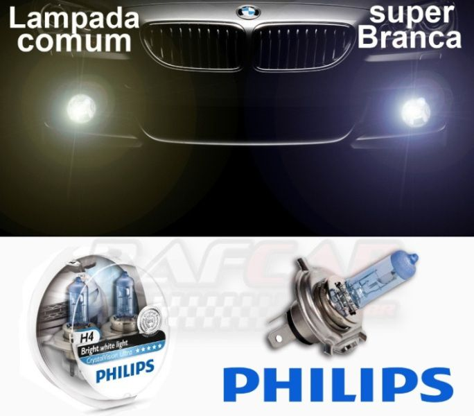 Lâmpada Crystal Vision Ultra H11 Philips