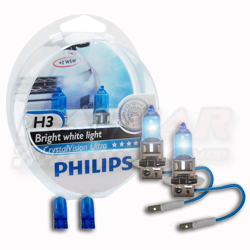 Lâmpada Crystal Vision Ultra H3 Philips