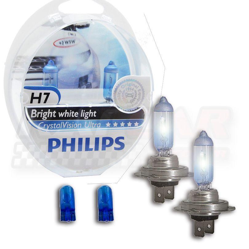 Lâmpada Crystal Vision Ultra H7 Philips