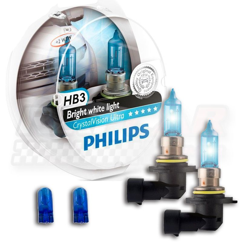 Lâmpada Crystal Vision Ultra HB3 Philips