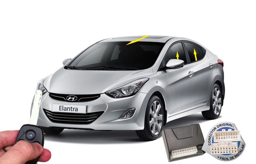 Módulo Conforto Elantra até 2015 Hyundai (vidros teto) ORIGINAL