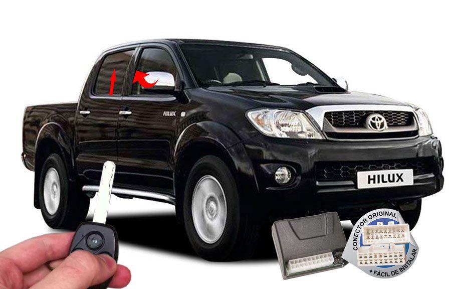 Módulo Conforto Hilux Toyota (vidros espelho) ORIGINAL
