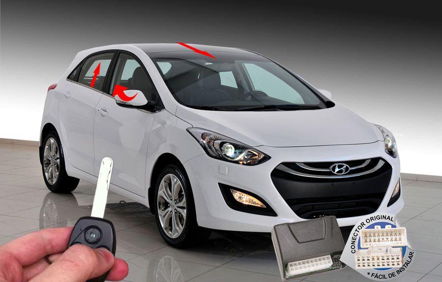 Módulo Conforto I30 2013-2015 Hyundai (Vidro Teto Espelhos) ORIGINAL