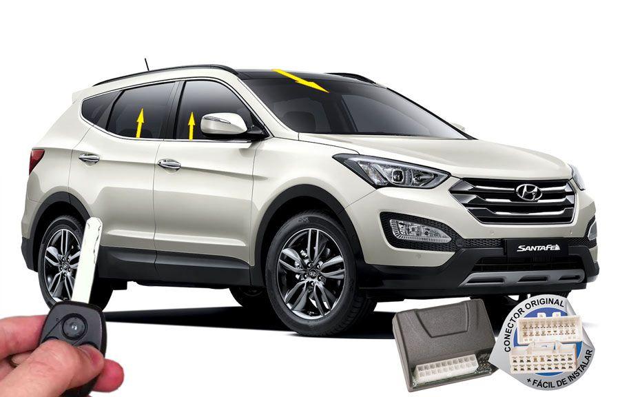 Módulo Conforto Santa Fé 2011-2013 Hyundai (vidros teto solar) ORIGINAL