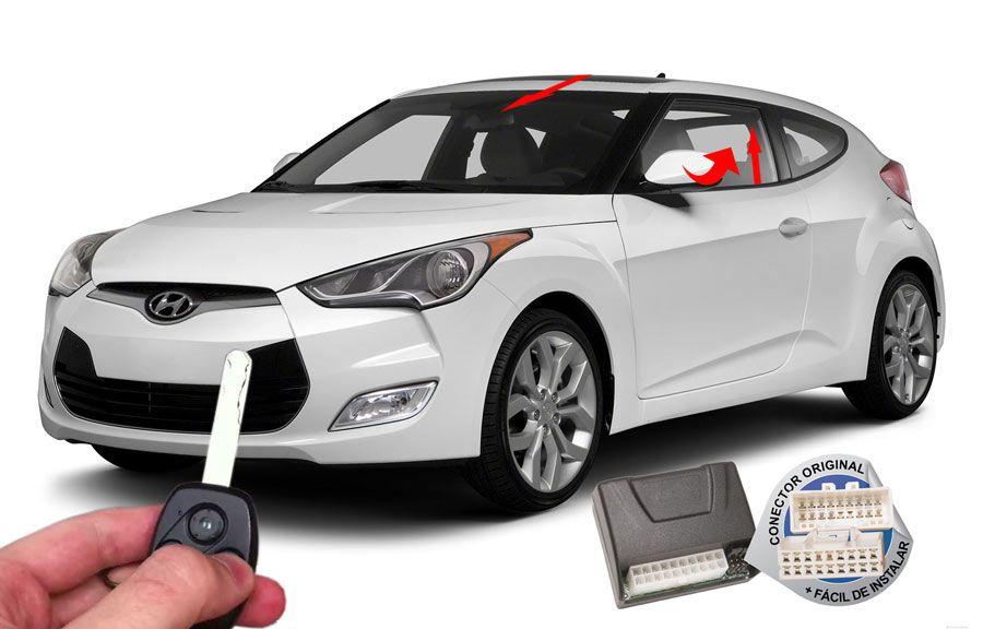 Módulo Conforto Veloster 2011-2012 Hyundai (Vidro Teto Espelhos)- ORIGINAL