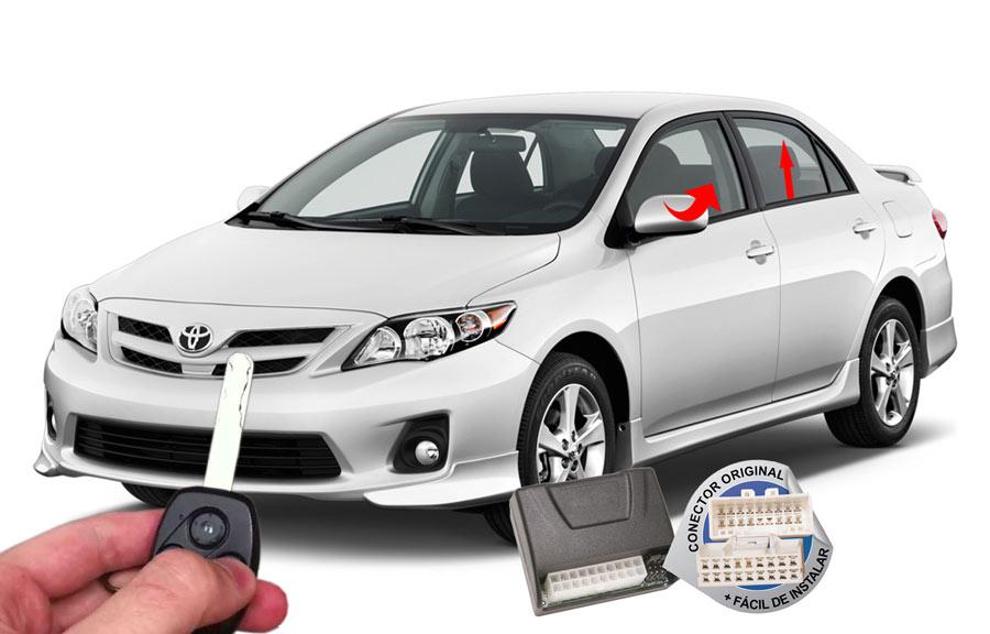 Módulo conforto Toyota Corolla 2009-2014 (vidros espelho) ORIGINAL