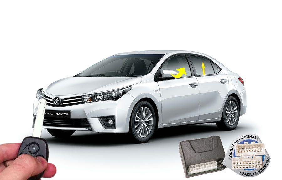 Módulo conforto Toyota Corolla XEI 2015 em diante (vidros espelho) ORIGINAL