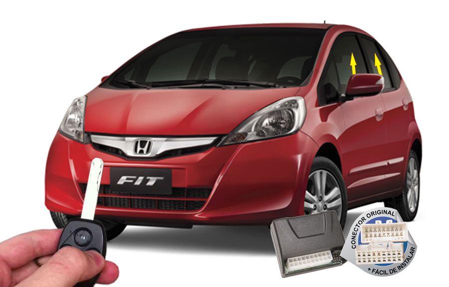 Módulo Subida Vidros Antiesmagamento Honda FIT 2009-2014