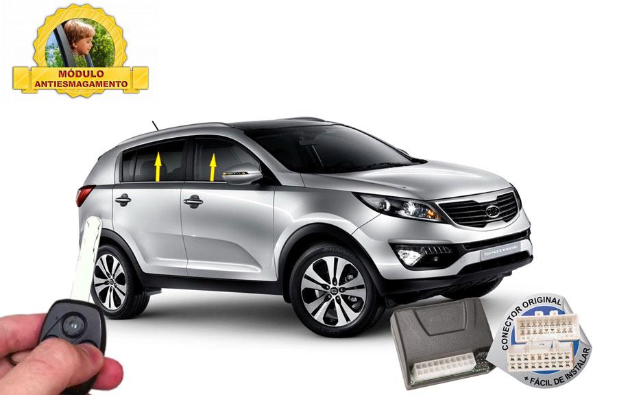 Modulo Conforto Chevrolet Tracker Vidros teto Solar TRACKER LTZ até 2014