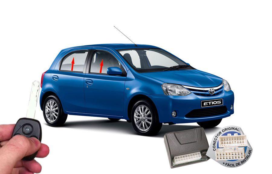 Módulo Subida Vidros Etios 2015 em diante Toyota ORIGINAL