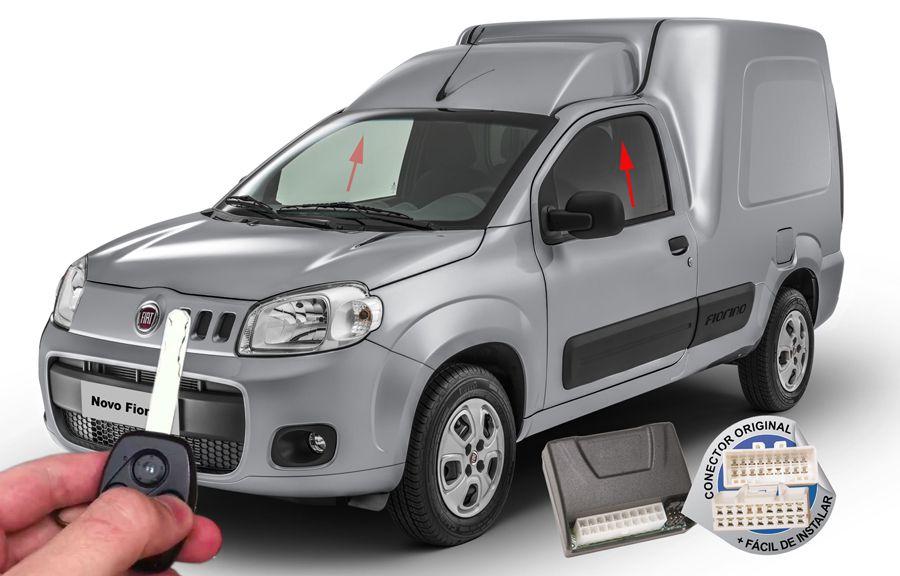 Módulo Subida Vidros Fiorino 2014 em diante Fiat ORIGINAL
