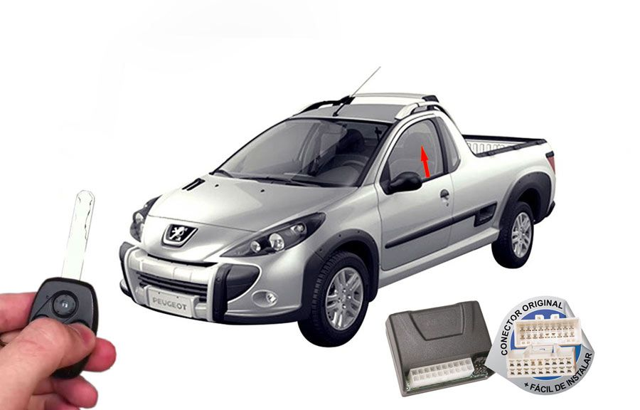 Módulo Subida Vidros Hoggar Peugeot ORIGINAL
