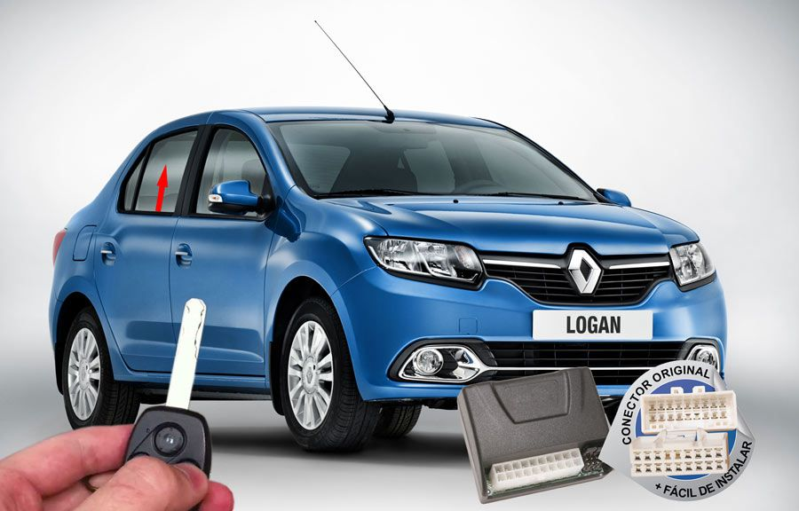 Módulo Subida Vidros Logan 2014 Renault (Vidros Traseiros) ORIGINAL
