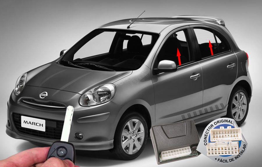 Módulo Subida Vidros March até 2014 Nissan ORIGINAL