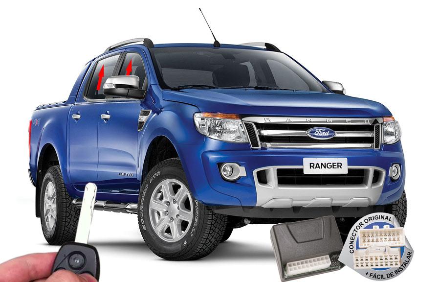 Módulo Subida Vidros Ranger 2013 em diante Ford ORIGINAL