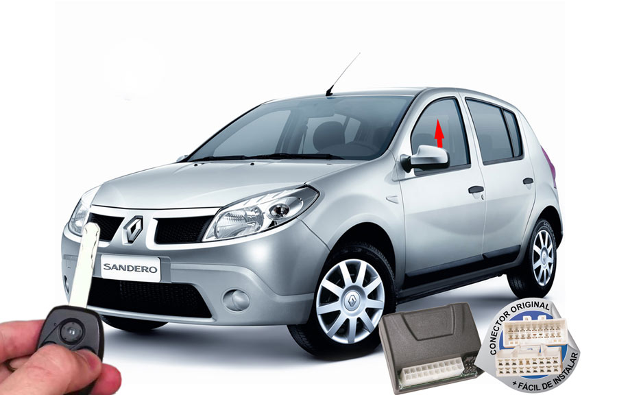 Módulo Subida Vidros Sandero 2014 Renault (Vidros dianteiros) ORIGINAL