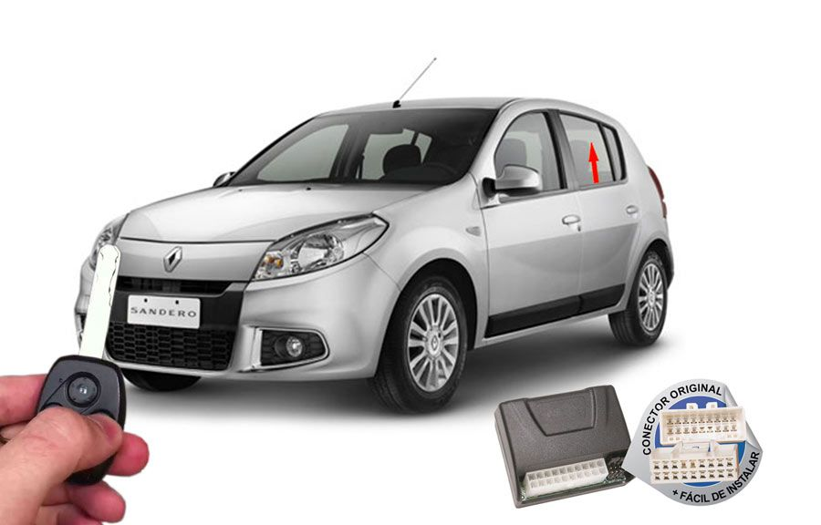Módulo Subida Vidros Sandero 2014 Renault (Vidros Traseiros) ORIGINAL