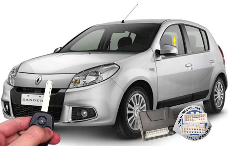 Módulo Subida Vidros Sandero até 2013 Renault (Vidros dianteiros) ORIGINAL