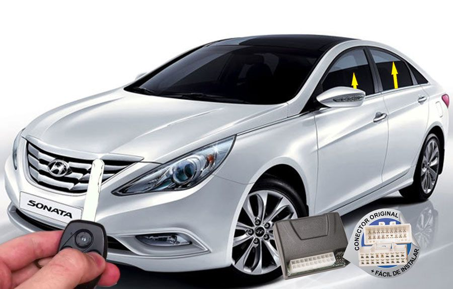 Módulo Subida Vidros Sonata Hyundai ORIGINAL