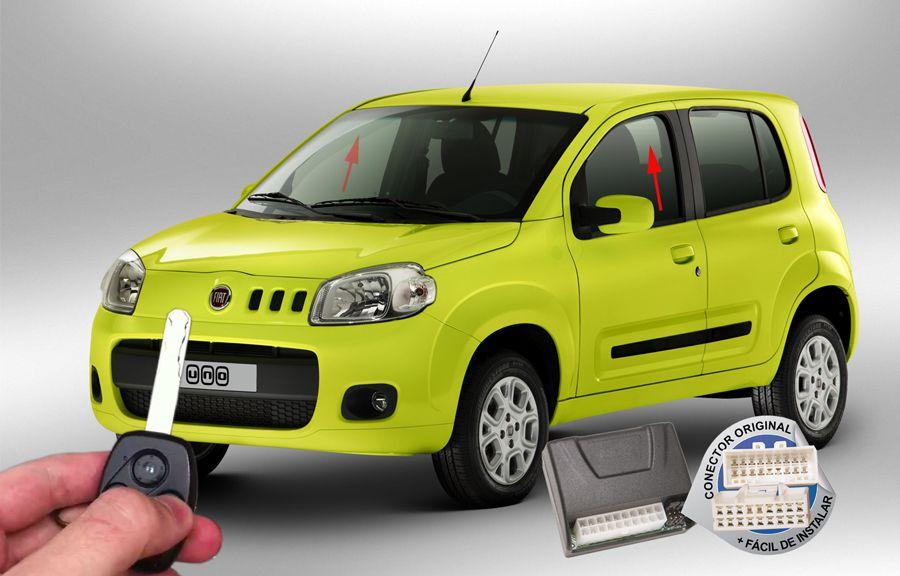 Módulo Subida Vidros Uno Novo (vidros dianteiros) Fiat ORIGINAL