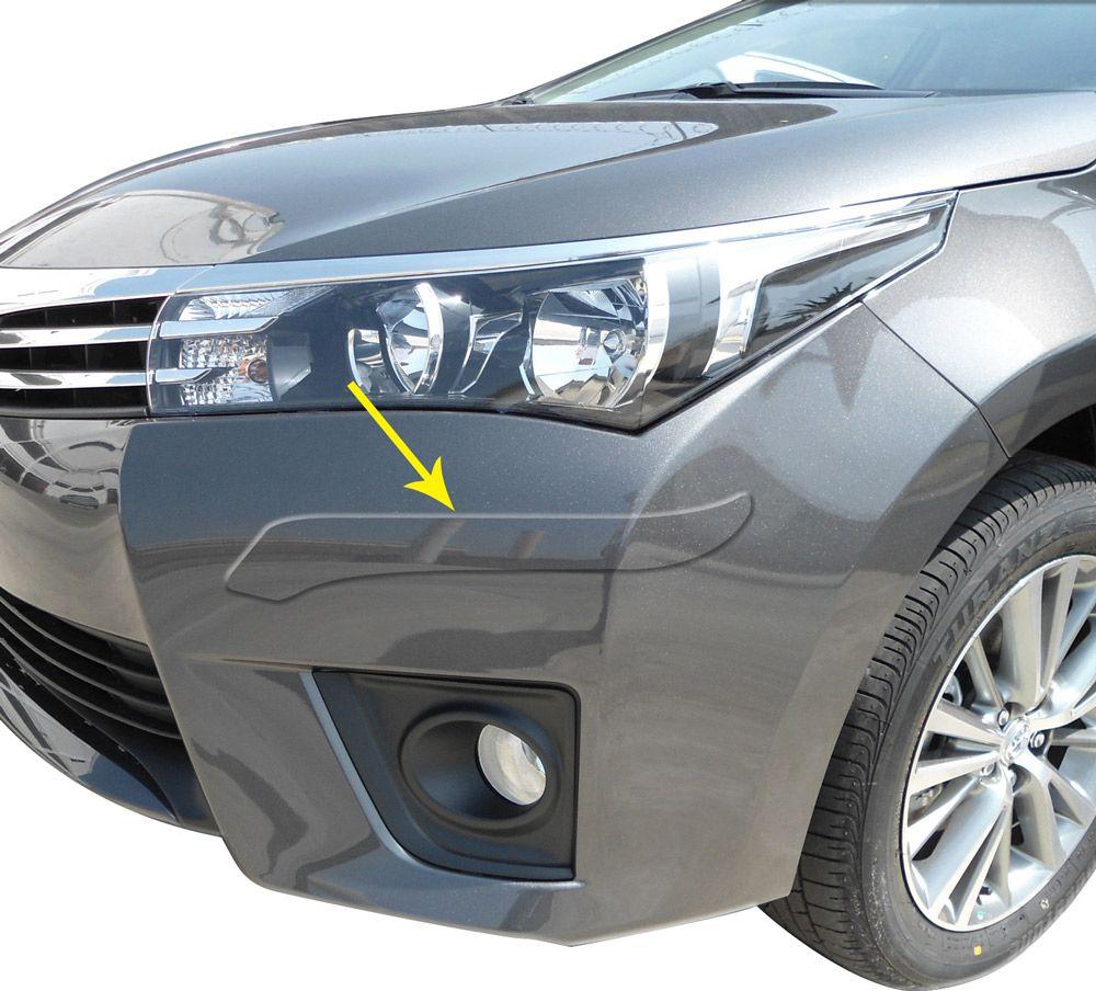 Protetor Para-Choque Corolla 2015 Adesivo Resinado Bumper