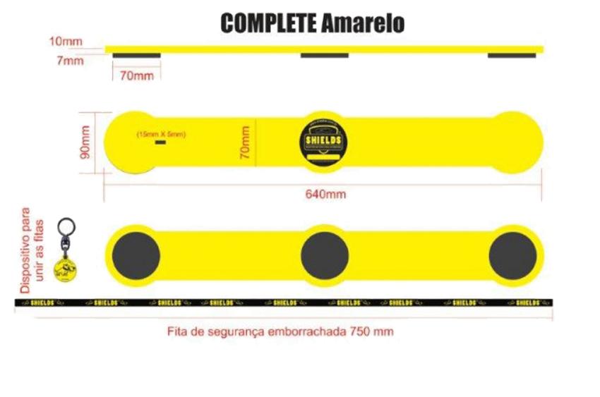 Protetor de Porta Magnetico Complete 4 pçs
