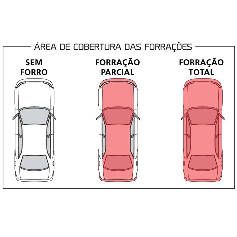 Capa Protetora Fiat  Palio Com Forro Total (P286)
