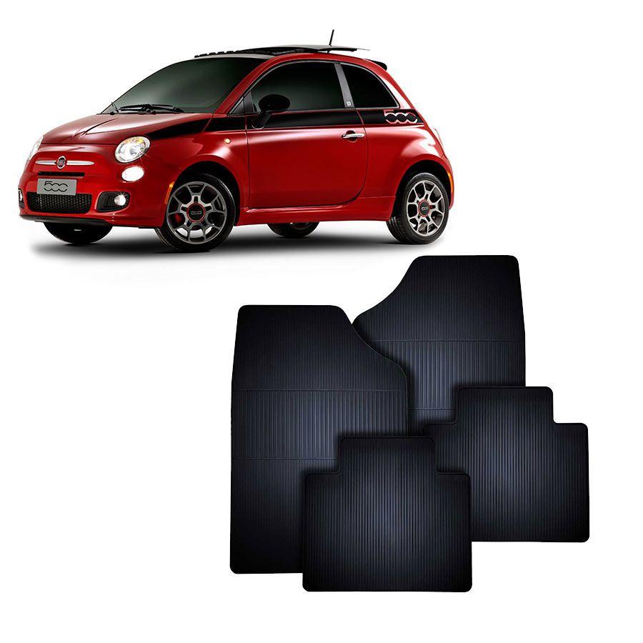Tapete de Borracha Fiat 500