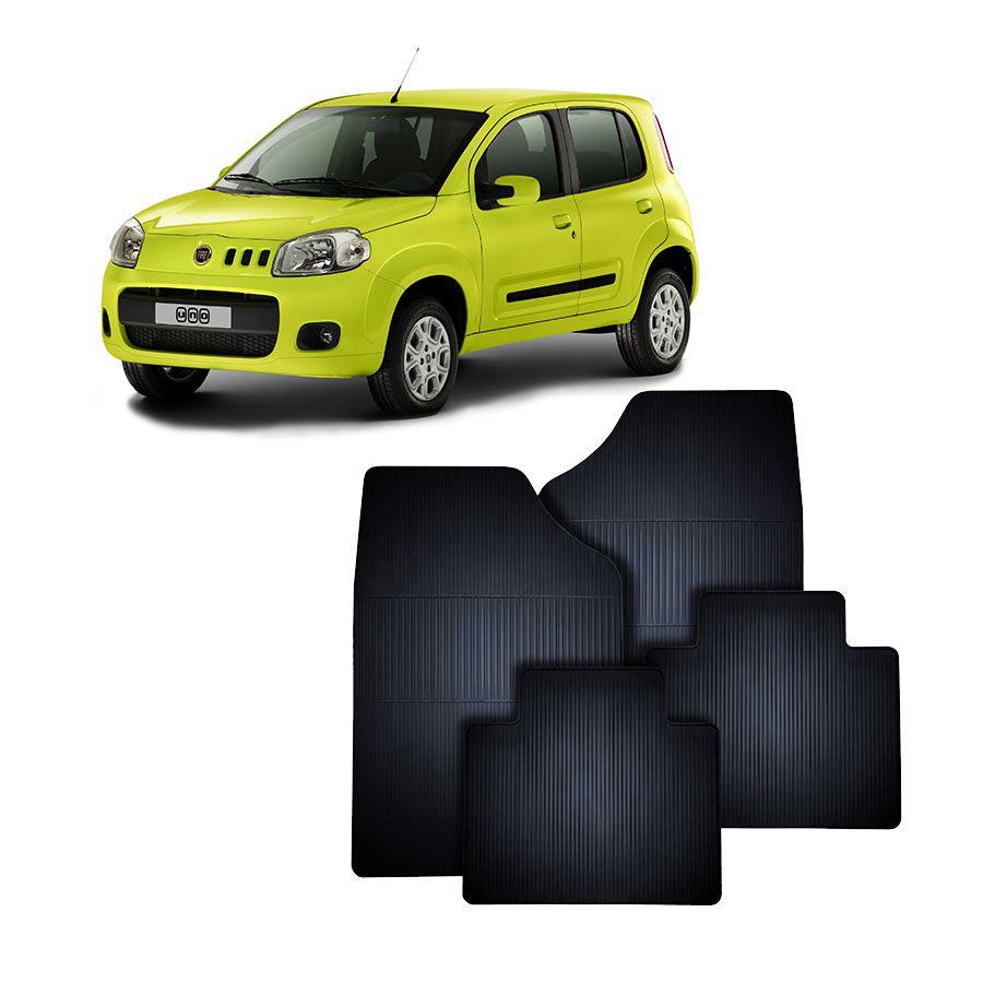 Tapete de Borracha Fiat Novo Uno