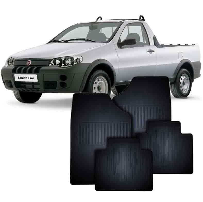 Tapete de Borracha Fiat Strada