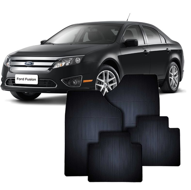 Tapete de Borracha Ford Fusion até 2009